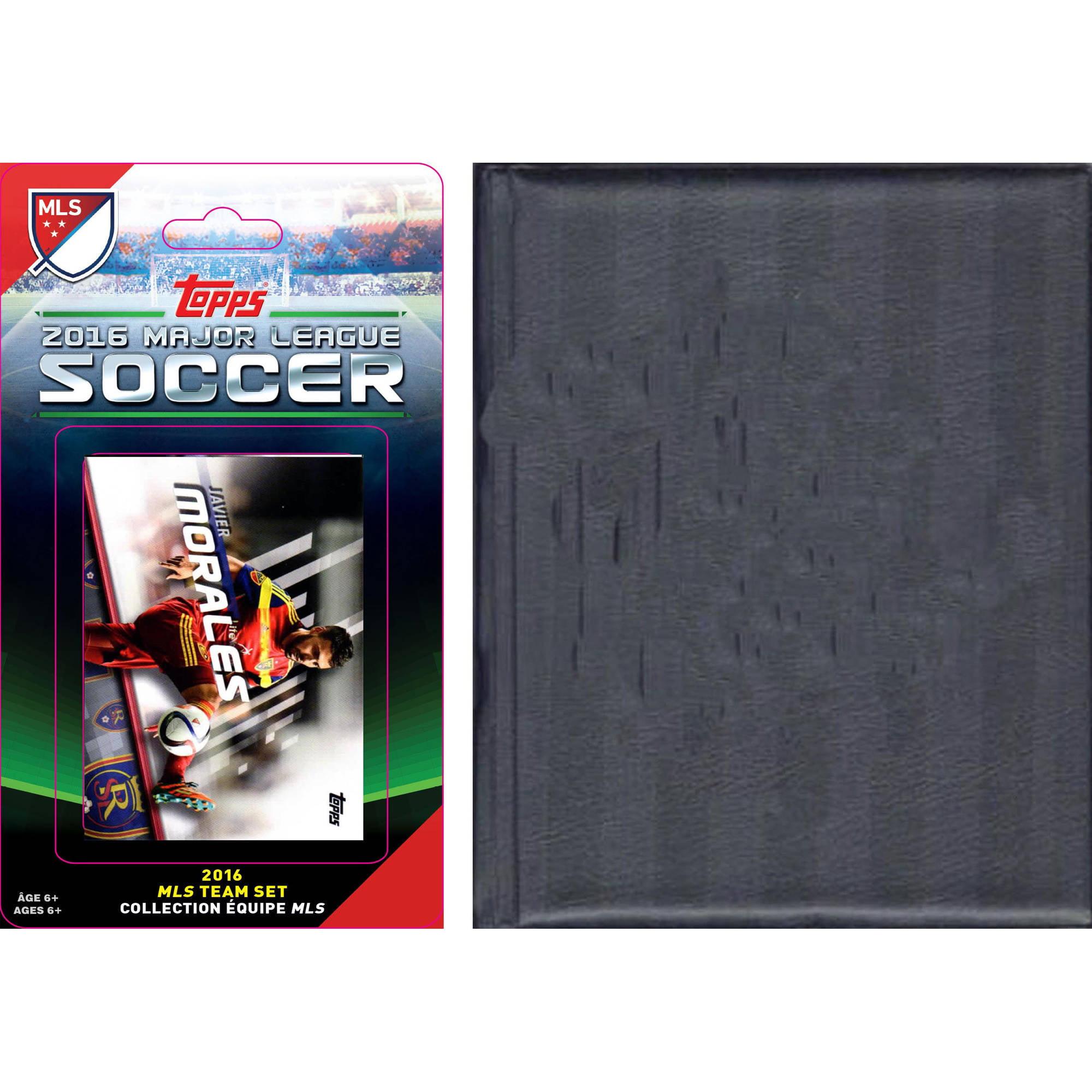 C&I Collectables MLS Real Salt Lake Licensed 2016 Topps Team Set and Storage Album