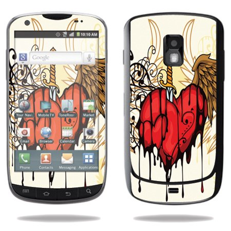 Mightyskins Protective Vinyl Skin Decal Cover for Samsung Galaxy S Aviator Cell Phone R930 wrap sticker skins Stabbing Heart