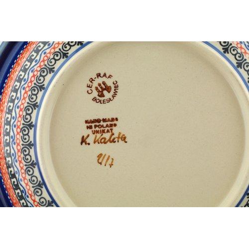 Polmedia Butterfly Paradise Pasta Bowl by Ceramika Bona