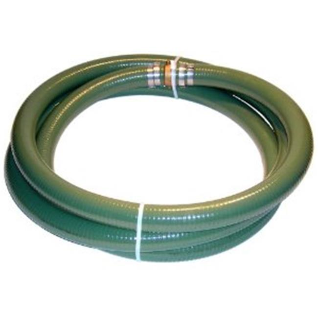 Tigerflex A007-0249-1620 Tigerflex Green PVC Suction hose MalexFemale Water Shanks-Green