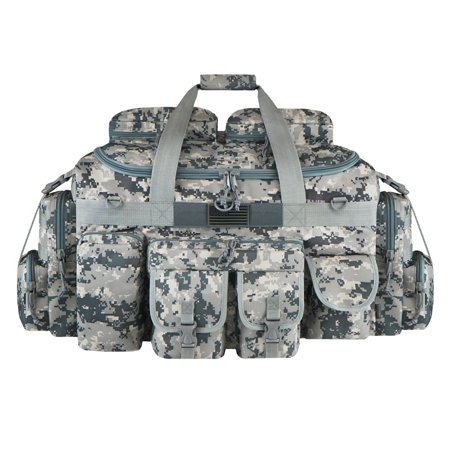 Camo Duffle Bag (East West USA The Tank Duffle Bag (Large) - Digital)