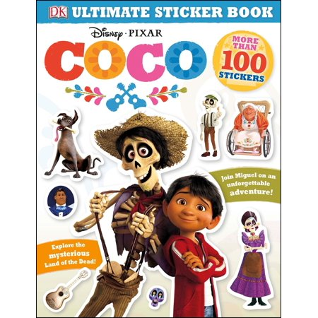 Ultimate Sticker Book: Disney Pixar Coco