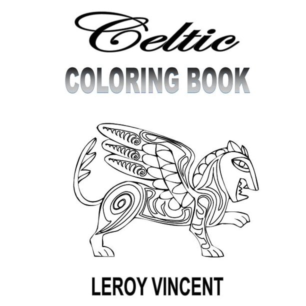 Celtic Coloring Book (Paperback)