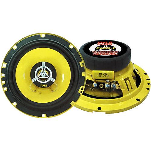 """Pyle 6.5"""" 2-Way Speakers - 240 Watt Max PLG6.2"""