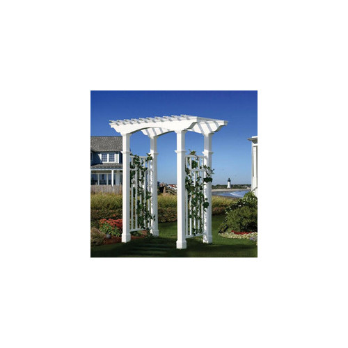 New England Arbors Newport Vinyl Arbor by New England Arbors