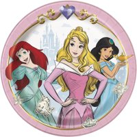Disney Princess Paper Dessert Plates, 7in, 24ct