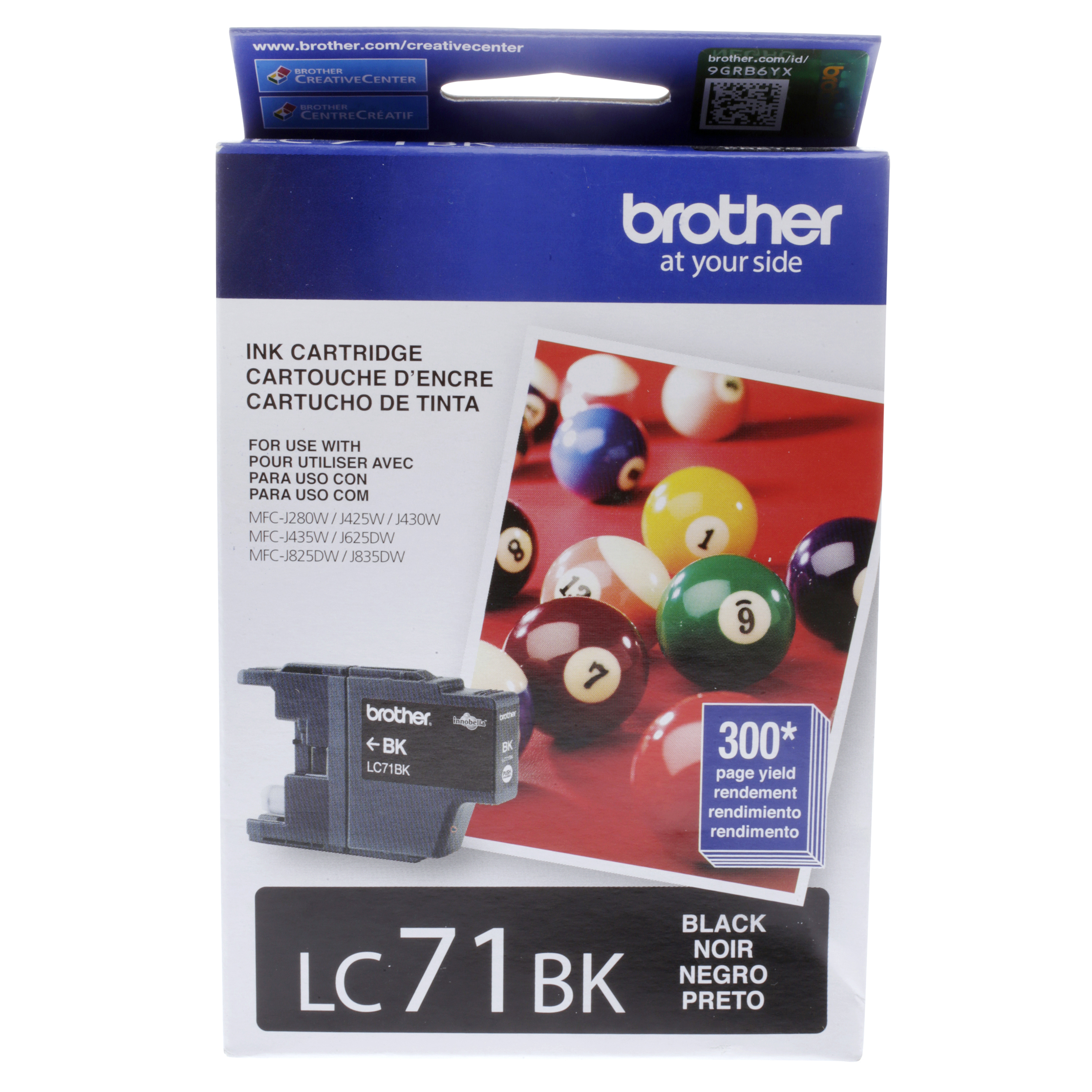 Brother LC71BK Replacement Ink