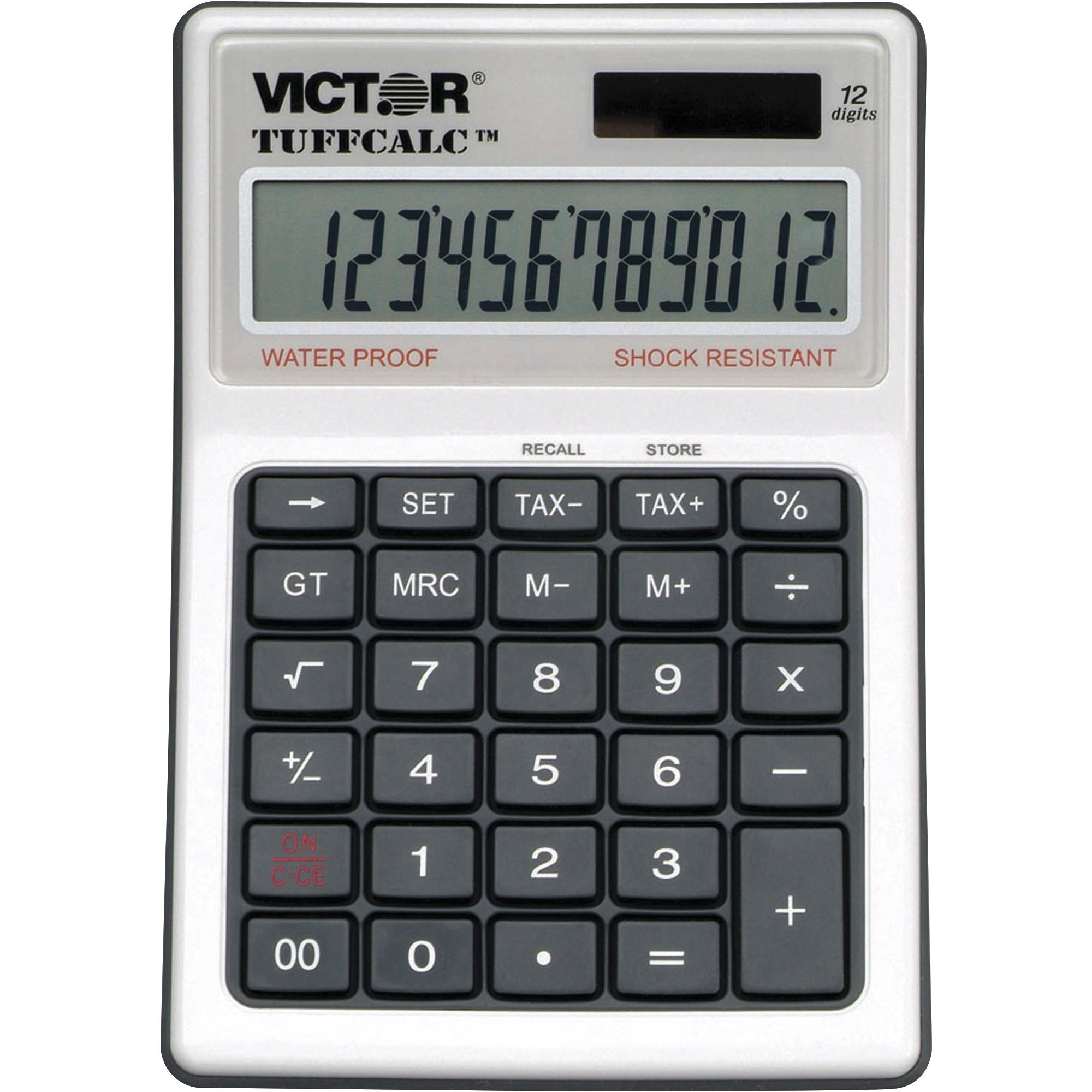 Victor, VCT99901, 99901 TuffCalc Calculator, 1 Each, White