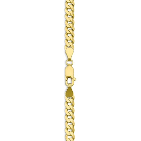 Leslies 10k 4.6mm Flat Beveled Curb Chain - image 2 of 5