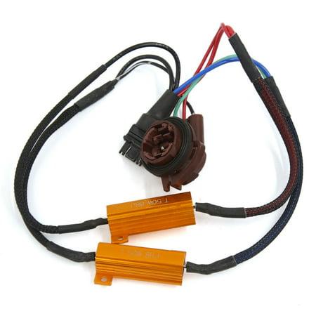 3157 Socket Vehicles Auto Car Free Load Resistor Decoder 50W