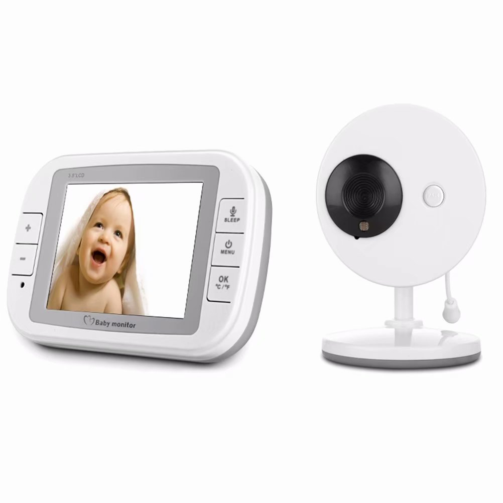 "3.5"" Video Baby Monitor Baby Infant Monitor Wireless w/ Digital Camera 2 Way Talkback Night Vision"
