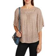 Women's Crochet Swing Top