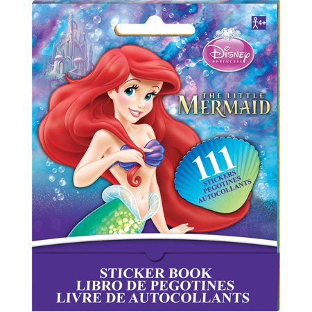 The Little Mermaid Ariel Sticker Book (9 Sheets)](Little Mermaid Stickers)