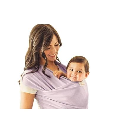 6e3b31b4646 Seven Sling Baby Girls Infant Wrap Carrier Multiple Ways 8-35 Lbs -Lilac- -  Walmart.com