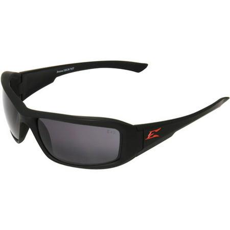 Edge Eyewear Brazeau Matte Polarized Smoke Lens, (Polarised Safety Sunglasses)