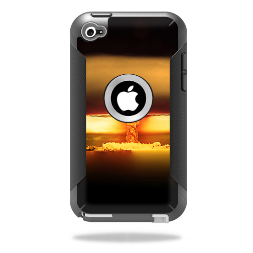 Mightyskins Protective Vinyl Skin Decal Cover for OtterBox Defender iPod Touch 4G Case wrap sticker skins Atomic