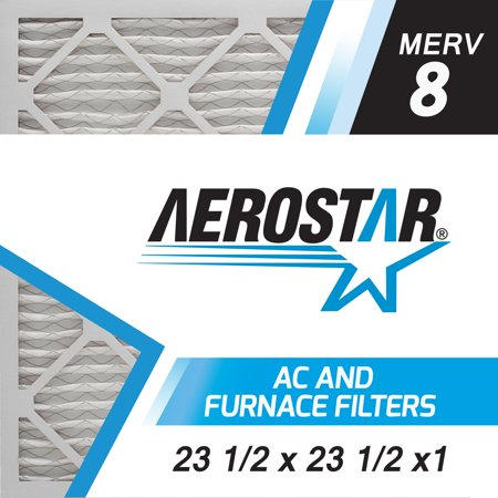 White Rodgers Furnace Filters - Merv 8  AC and Furnace Air Filter by Aerostar