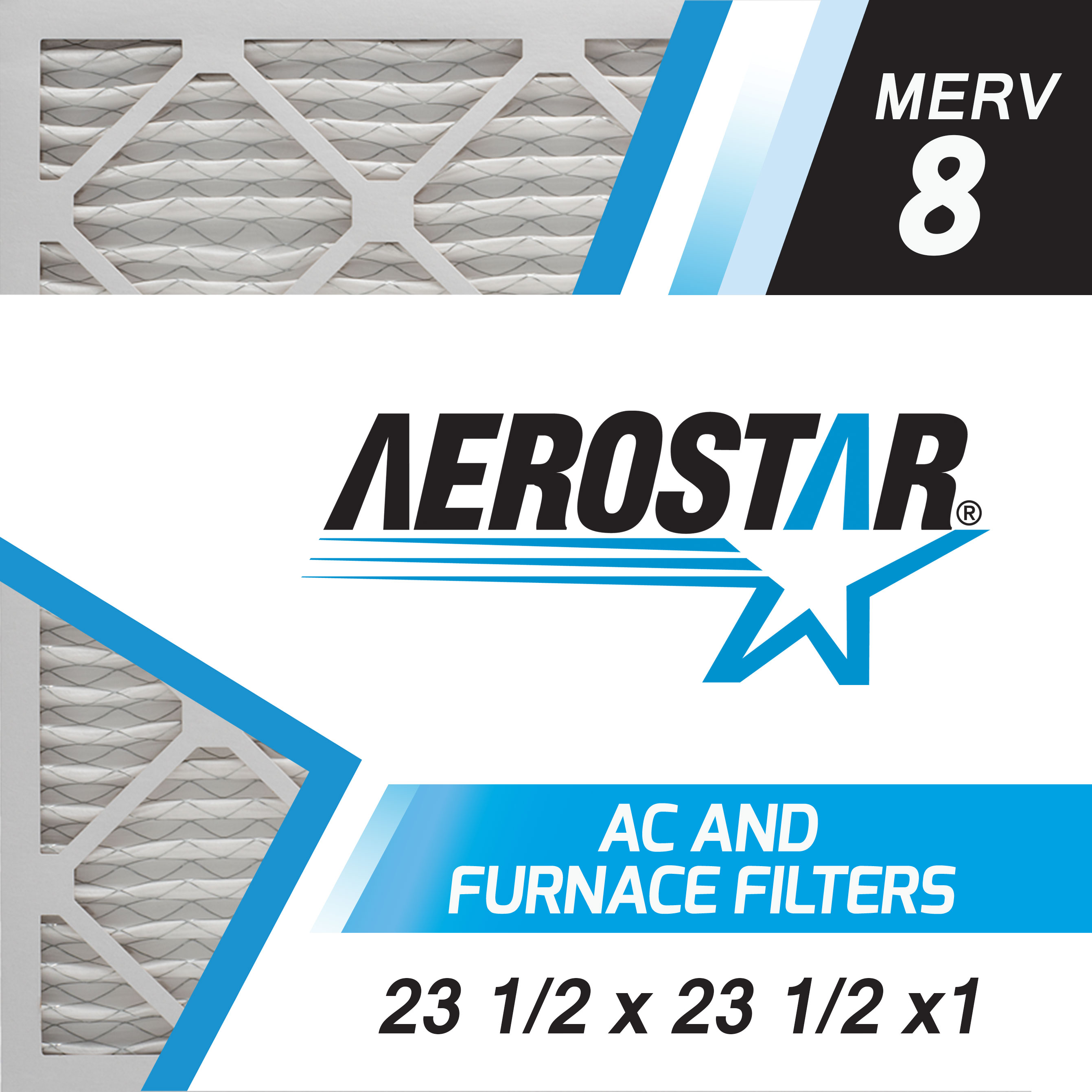 Merv 8  AC and Furnace Air Filter by Aerostar