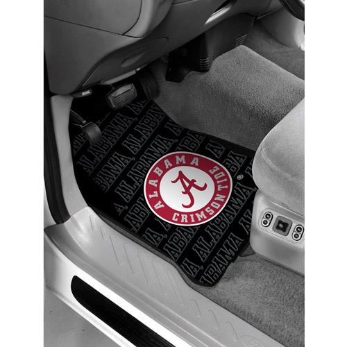 NCAA - Alabama Floor Mats - Set of 2