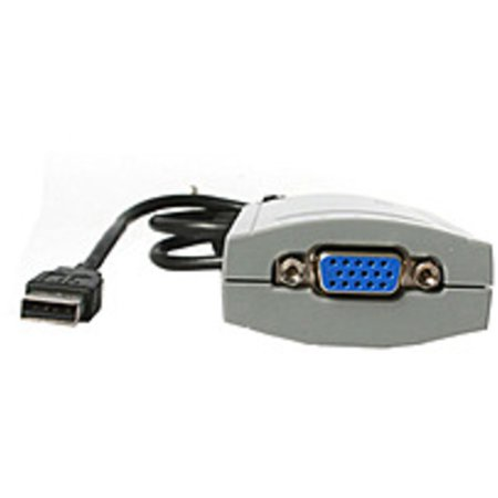 StarTech USB2VGA USB 2.0 to VGA External Dual or Multi Monitor (Refurbished)