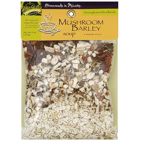 Homemade In Minutes Mushroom Barley Soup, 4 oz (Pack of 8) Mushroom Barley Soup