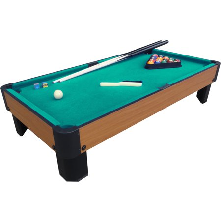 "Playcraft Sport Bank Shot 40"" Pool Table with Green Cloth"
