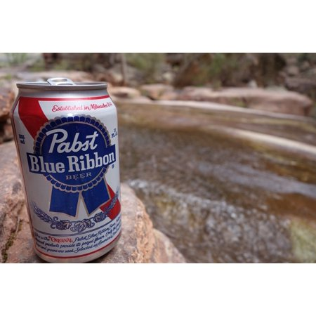 LAMINATED POSTER Pbr Pabst Creek Beer Poster Print 24 x 36