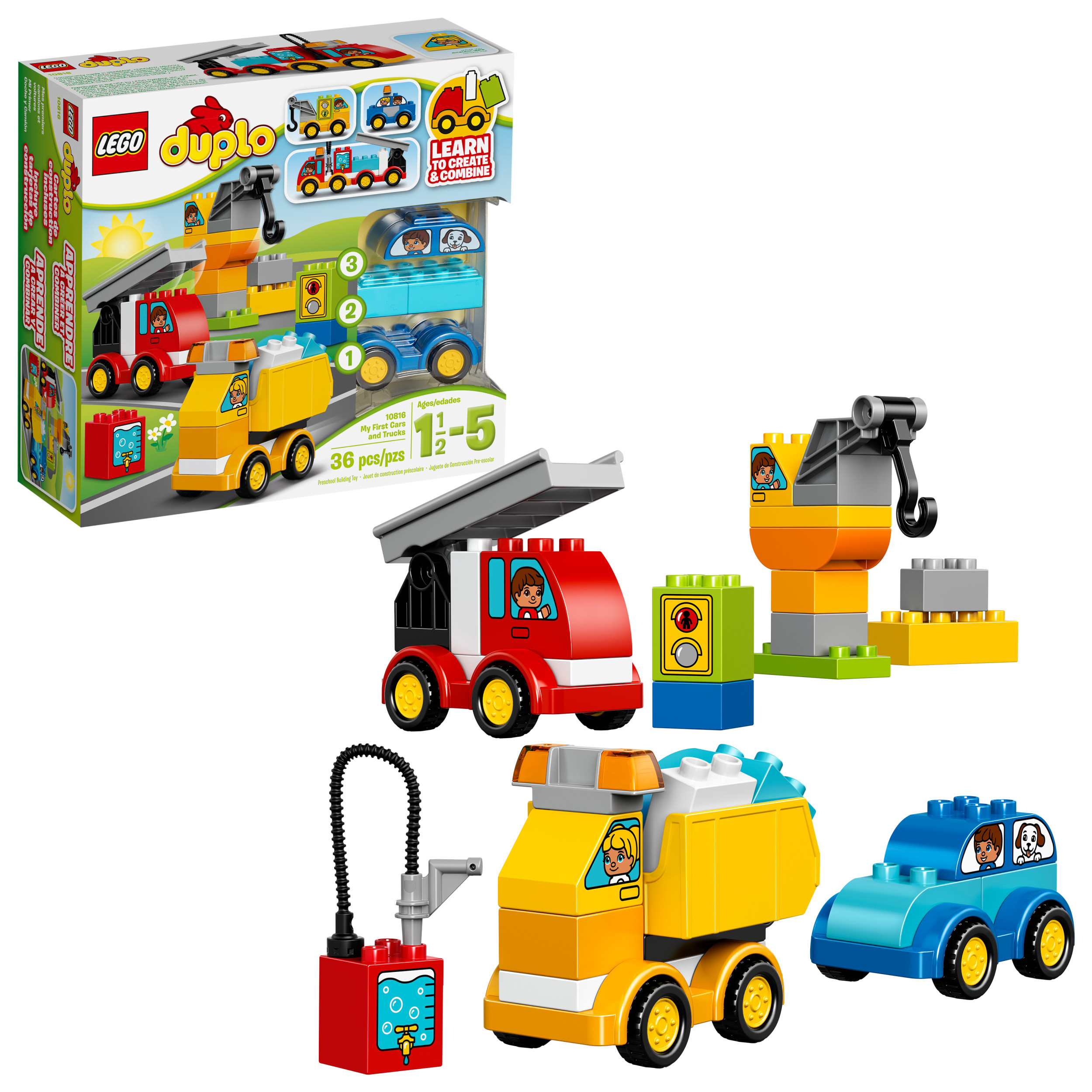 LEGO DUPLO My First Cars and Trucks, 10816