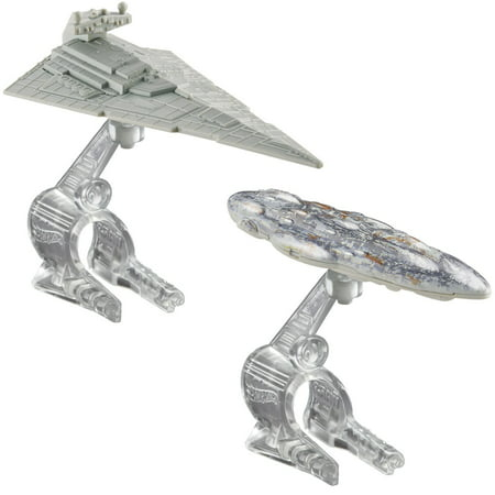 Hot Wheels Star Wars Starship 2-Pack Star Destroyer Vs. Mon Calamari Cruiser