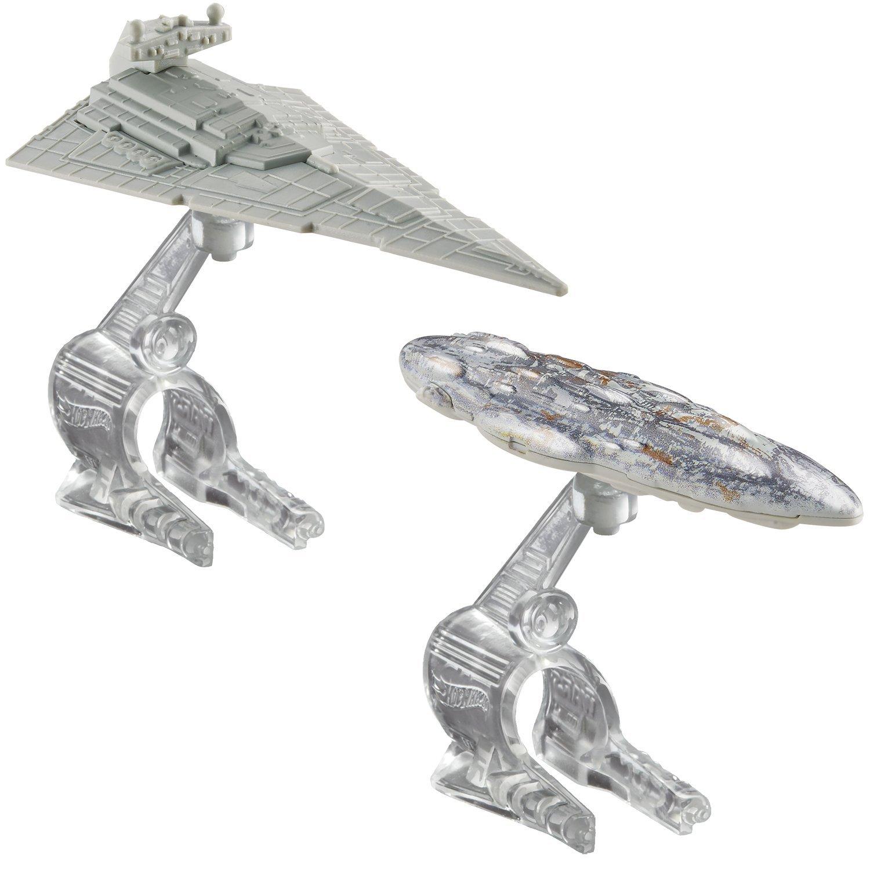 Hot Wheels Star Wars Starship 2-Pack Star Destroyer Vs. Mon Calamari Cruiser