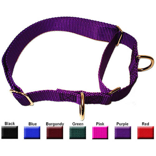 Majestic Pet 14'' - 20'' Adjustable Martingale Collar in Multiple Colors Fits Most 40-120 lbs Dogs