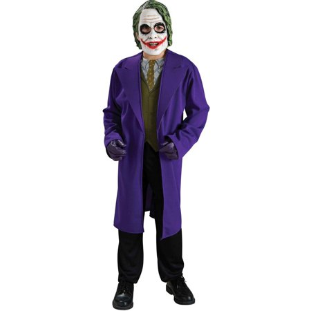 Batman Dark Knight The Joker Child Halloween (The Joker Fancy Dress Costume Dark Knight)