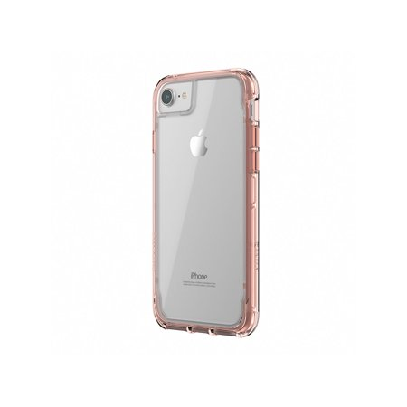 Griffin Survivor Clear for iPhone 8, See-through drop-protection in an ultra-thin case that lets your iPhone 8 shine (Let Me See Your Phone Cause All Them)