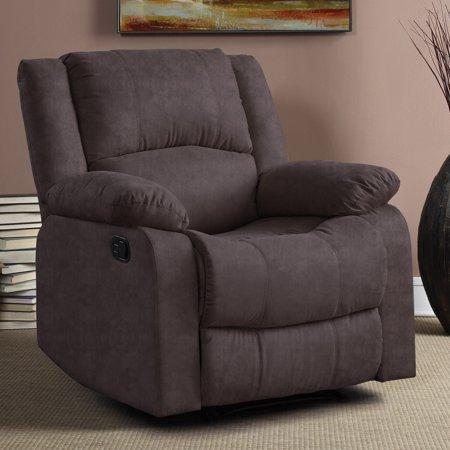 Warren Recliner Single Chair In Chocolate Microfiber Power Podiatry Chair