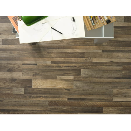 Ridgeline 4mm Thickness x 5.91 in. Width x 48 in Length HDPC Embossed Vinyl Plank (19.69 sq. ft. / case)