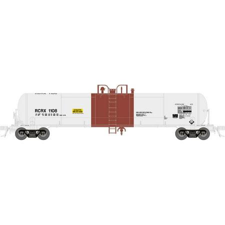 Atlas N Scale GATX 20,700-Gallon Tank Freight Car Reagent Chemical/RCRX  #1112