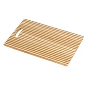 Laguna Honey Stripe Cutting Board with Handle Island Bamboo 1 Board
