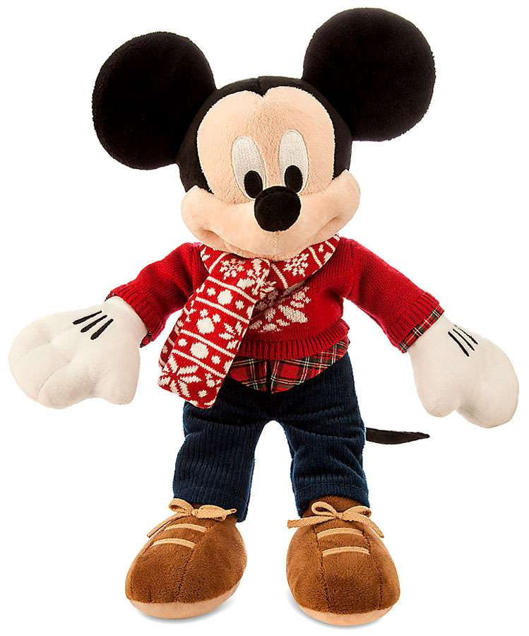 Disney Mickey Mouse Holiday Mickey Mouse 16 Plush [2015] by