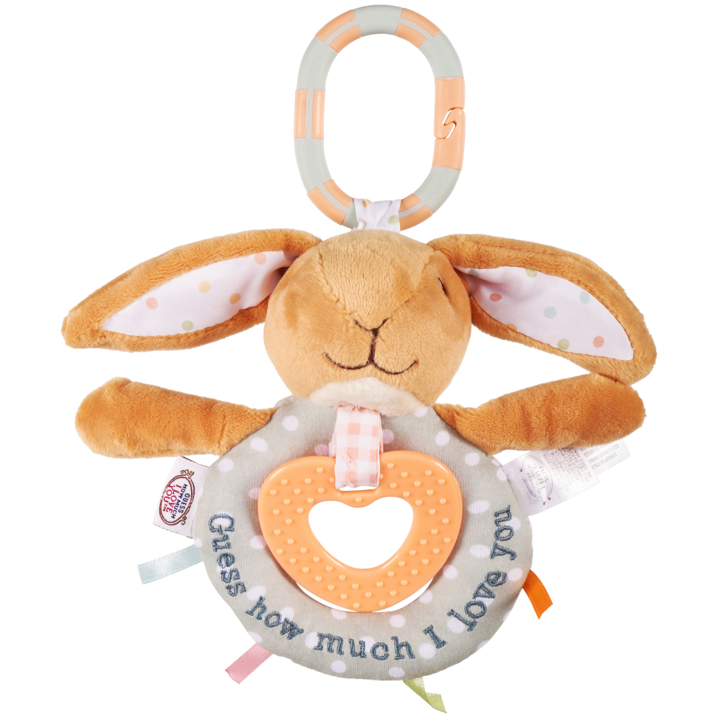 Guess How Much I Love You Teether Activity Toy