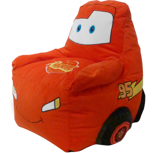 Disney Cars Figural Toddler Bean Bag Chair