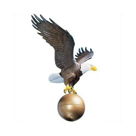 Whitehall Color Medium Flagpole Eagle - 00802