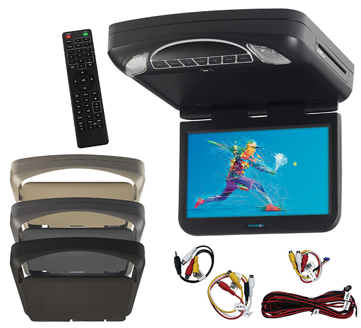 """Audiovox 10.1"""" LED Monitor w  DVD HD Inputs Movies to go by Voxx by Audiovox"""