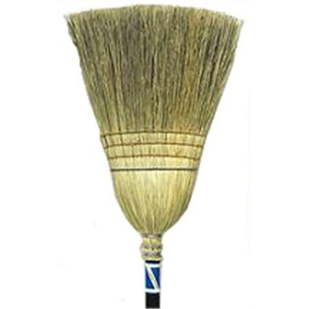 Part 12147(5917) 100% Corn Janitor Broom, by Crystal Lake, Single Item, Great - Express Crystal Lake