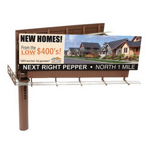 BLMA Models 4320 Mod Dual-Sided Billboard
