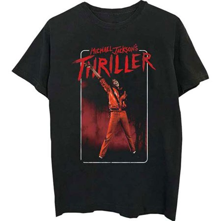 Michael Jackson Men's  MJ Thriller T-shirt Black](Michael Jackson Thriller Outfit)