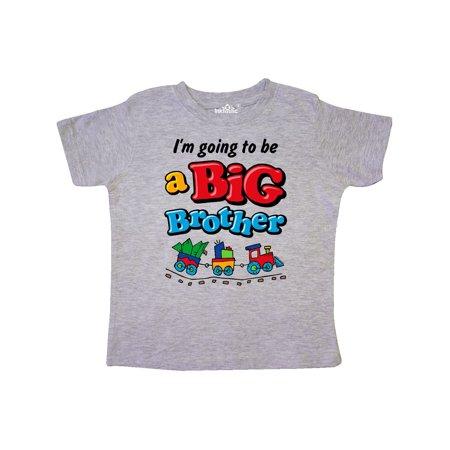 b44899f1 Inktastic - Choo Choo Future Big Brother Toddler T-Shirt - Walmart.com