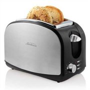 Sunbeam Brushed Stainless Steel 2-slice Toaster with Extra Wide Slots by Sunbeam