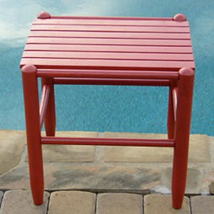 Dixie Seating Indoor/Outdoor Slat Side Table