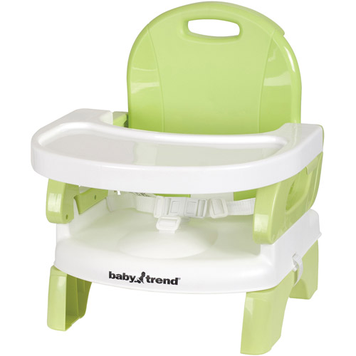 Beau Baby Trend Portable High Chair/Booster Seat, Lime