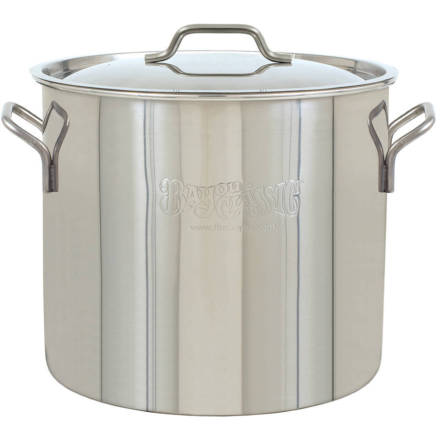 Bayou Classic 30 qt Brew Kettle Stainless Steel Stockpot
